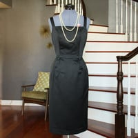 Vintage Black Midi Dress - Made in USA - Multi Ocassion - Size 8