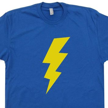 Lightening Bolt T Shirt Geek T Shirts Vintage T Shirts Funny T Shirts