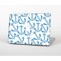 The Blue Anchor Stitched Pattern Skin for the Apple MacBook Air 13""