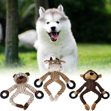 Animal Designs Dog Toys Pet Puppy Chew Squeaker Squeak Plush Sound Toy Pet Products For Small Dogs