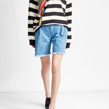 Striped Parrot Pullover in Wool - Marc Jacobs | WOMEN | US STYLEBOP.COM