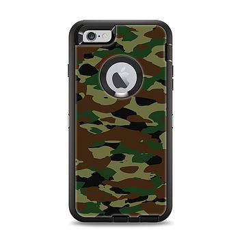 The Traditional Camouflage Apple iPhone 6 Plus Otterbox Defender Case Skin Set