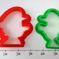 Mario and Luigi Cookie Cutters