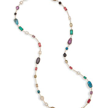 Joann Brass Long Necklace in Jewel Tones | Kendra Scott