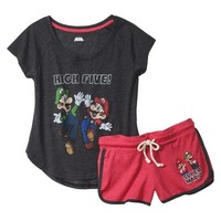 Vintage Junior's PJ Set - Assorted Colors