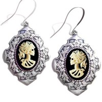 Women's Lolita Skeleton Renaissance Earrings