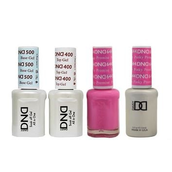 DND - Base, Top, Gel & Lacquer Combo - Pinky Promise - #644