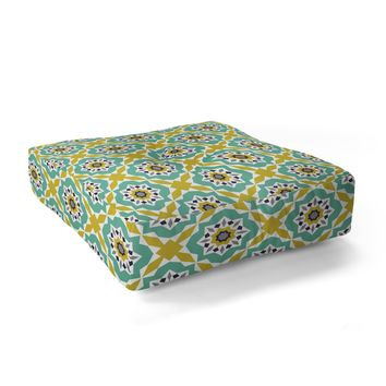 Heather Dutton Mattonelle Floor Pillow Square