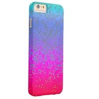 iPhone 6 Plus Case Barely Glitter Star Dust
