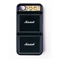 Iphone 4 Case - Marshall Amp iPhone case for iPhone 4 / 4S