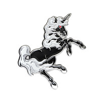 Black Unicorn Pin