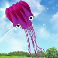5M Large Octopus Parafoil Kite with Handle & String
