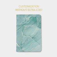 Marble passport holder personalized passport cover christmas gifts Christmas gift ideas christmas gift for her christmas gift for him