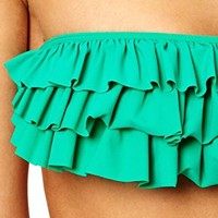 Mouille Emerald Green Bikini at asos.com
