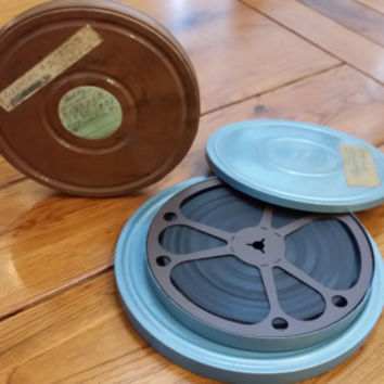Set of 3 Vintage 8mm Film Home Movie Reels Great for Decor Repurposing Upcycling Altered Collage Multimedia Art Card Making Scrap Booking 3