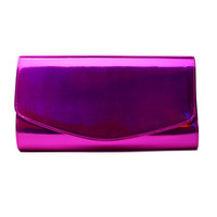 Penelope Clutch in Pink