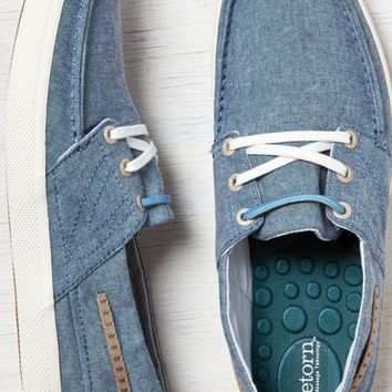 AEO Men's Tretorn Otto Canvas Boat Shoe (Blue)