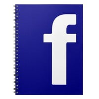 Facebook Logo notebook