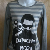 Coolest Depeche Mode Tour Tee TShirt  by littlextrasthatcount