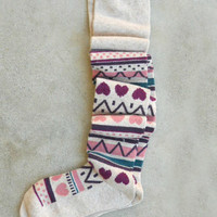 Soft & Cozy Boot Socks in Hearts