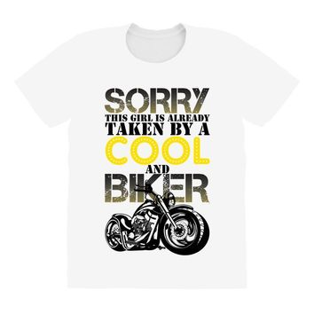Sorry This Girl Is Already Takenby a Cool And Biker All Over Women's T-shirt
