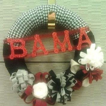 University of Alabama Crimson Tide Wreath