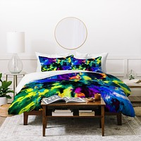 Caleb Troy Bat Crazy Clouds Duvet Cover