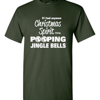 Funny Christmas Shirt Christmas Tee Jingle Bells Great Gift Idea Mens Ladies Womens Youth Love Christmas Merry Christmas Celebrate B-447