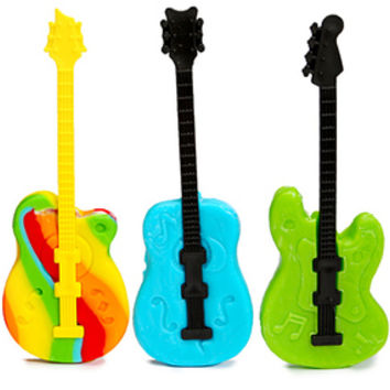 Rockin Pop Guitar Lollipops: 12-Piece Box