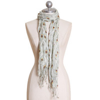 pretty as a peacock scarf - $14.99 : ShopRuche.com, Vintage Inspired Clothing, Affordable Clothes, Eco friendly Fashion