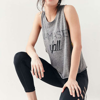 Without Walls Namaste Yall Tank Top - Urban Outfitters