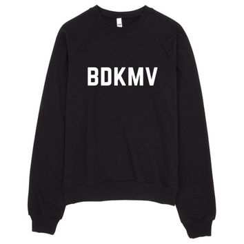 BDKMV Crew Neck Sweater Made in USA
