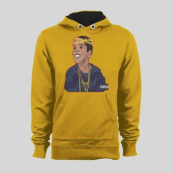 RAPPER FLYGOD ALBUM COVER ART CUSTOM DESIGN FULL FRONT SWEATER / HOODIE