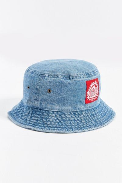 aead4082055 Milkcrate Athletics Washed Denim Bucket from Urban Outfitters
