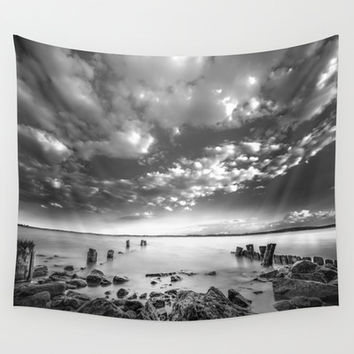 Docklands Wall Tapestry by HappyMelvin