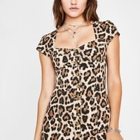 Queen Of Fierce Leopard Dress