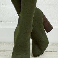 Yuki Boot - Moss Knit