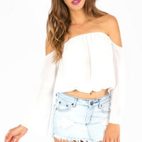 Over the Crop Top $33