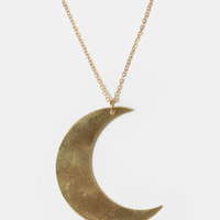 Moon Beam Indie Necklace - $18.00 : ThreadSence, Women's Indie & Bohemian Clothing, Dresses, & Accessories