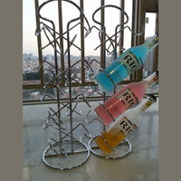 Bottle wine rack.Suit for home and office.Put the wine in right place = 4486970436
