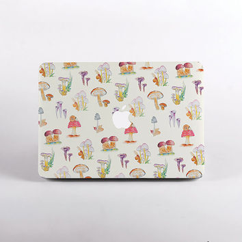 Mushrooms Macbook Case for all macbook cases. Hard Shell for MacBook pro, MacBook Pro Retina Display and MacBook Air