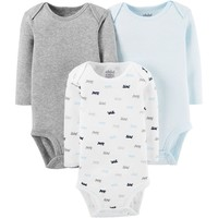 Child Of Mine By Carter's Baby Boy Long Sleeve Bodysuits