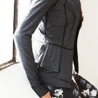 Pure + Good Quilted Peplum Jacket