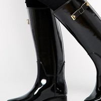 Ted Baker Elanera Black Wellington Boots