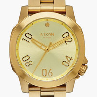 Nixon Ranger 40 Watch Gold One Size For Men 25841362101