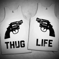 Thug Life Best Friends Tanks