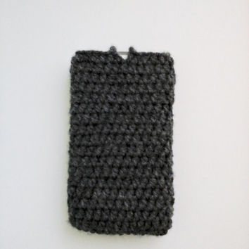 Crochet Mobile Case, Phone Case, Mobile Cover, Phone Cover, Owl Mobile Case, Owl Phone Case