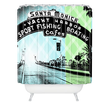 Amy Smith Santa Monica California Shower Curtain