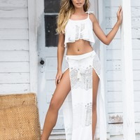 Two Piece Beach Dress & Cover Up