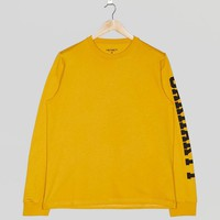 Carhartt WIP Long Sleeve College Left T-Shirt | Size?